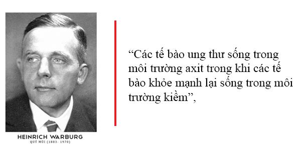 Tiến sĩ Otto Warburg – Người dành cả cuộc đời để nghiên cứu các tế bào ung thư