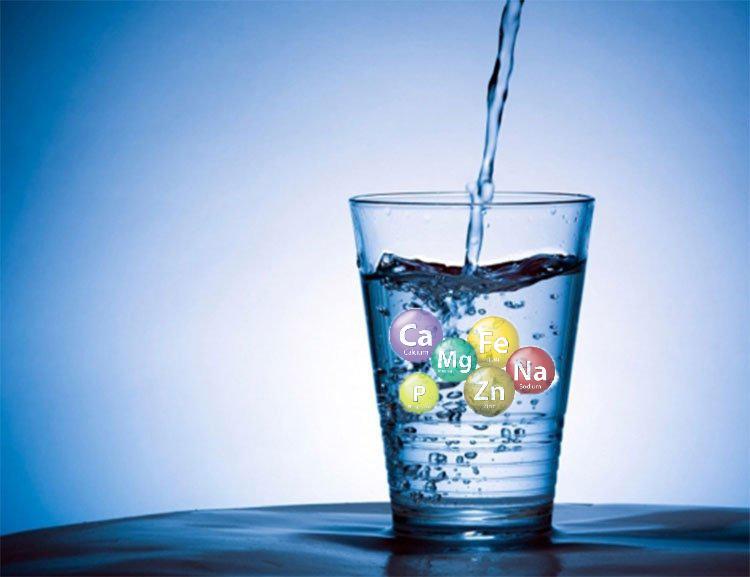 Nước ion kiềm chứa nhiều vi khoáng có lợi