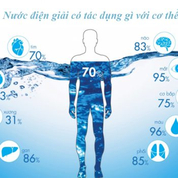 Nước điện giải có tác dụng gì