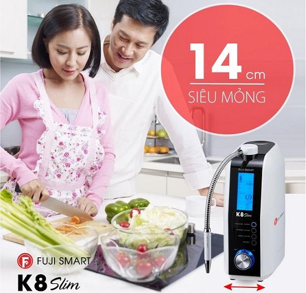 Fuji Smart K8 có thiết kế siêu mỏng