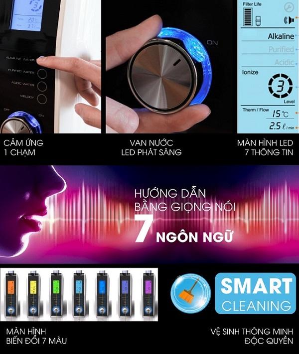 Máy Fuji Smart K8 Slim có công nghệ vận hành thông minh