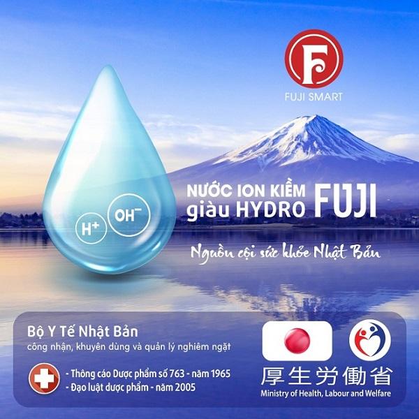 nước ion kiềm được chứng nhận là tốt cho sức khỏe