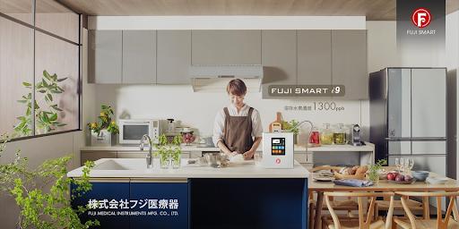 Fuji Smart i9 sở hữu vẻ bên ngoài vô cùng thời thượng và sang trọng