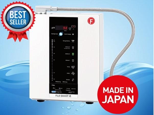 Truy tìm máy lọc nước ion kiềm Fuji Smart tốt nhất
