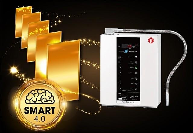 Máy lọc nước Fuji Smart được trang bị 5 tấm điện cực