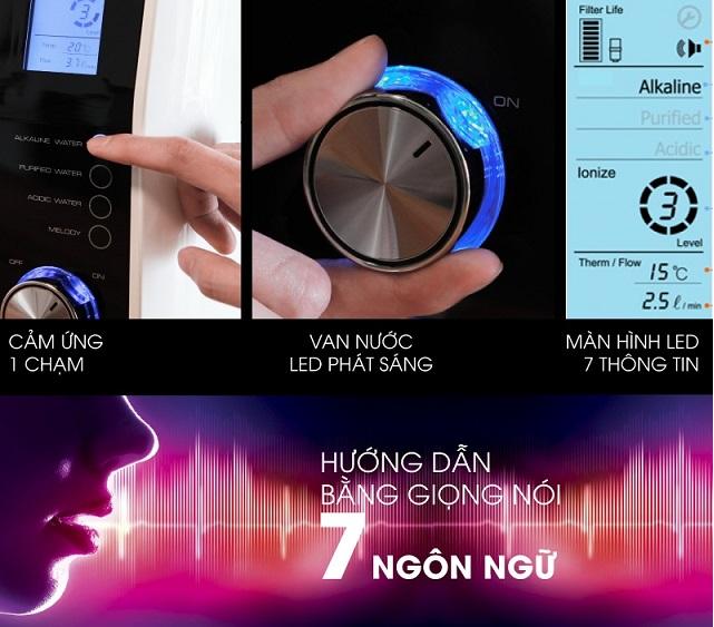 Fuji SMART K8 Slim công nghệ vận hành đỉnh cao
