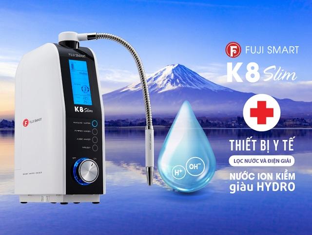 Fuji Medical ra mắt thiết bị y tế tạo nước ion kiềm giàu Hydrogen phân khúc thấp 2