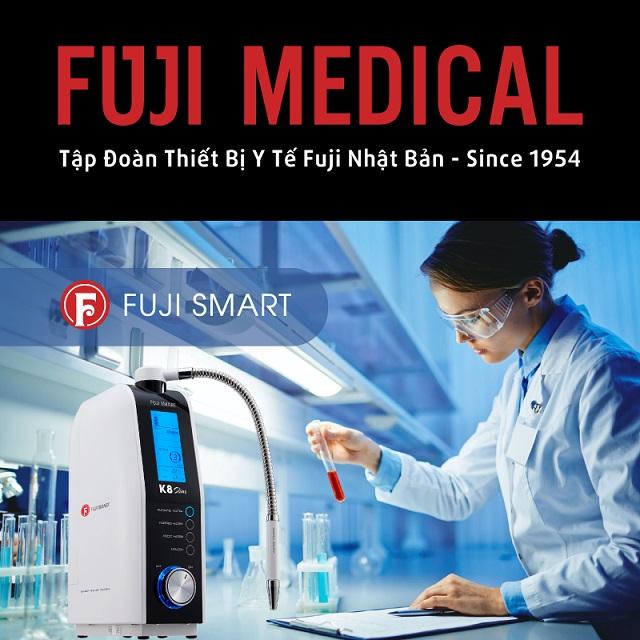 Fuji Medical ra mắt thiết bị y tế tạo nước ion kiềm giàu Hydrogen phân khúc thấp 4