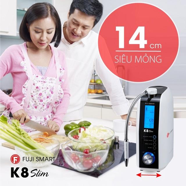 máy Fuji SMART K8 Slim siêu mỏng