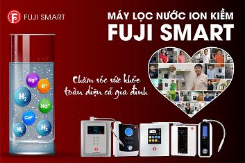 10 lý do nên chọn máy lọc nước fuji smart