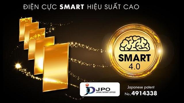 điện cực smart 4.0 có hiệu suất cao