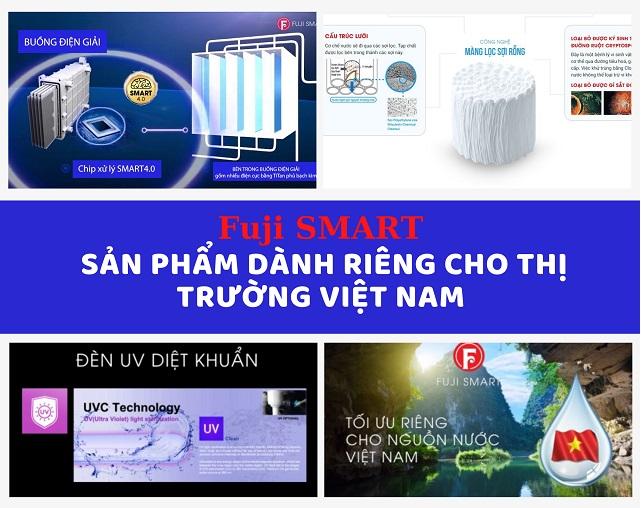 Fuji SMART sản phẩm dành riêng cho thị trường Việt Nam
