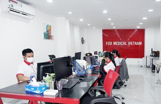 khối văn phòng Fuji Medical Việt Nam