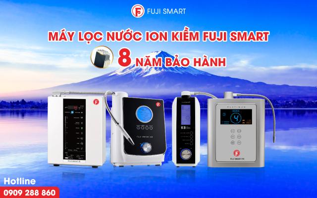 Thời hạn bảo hành máy ion kiềm Fuji Smart