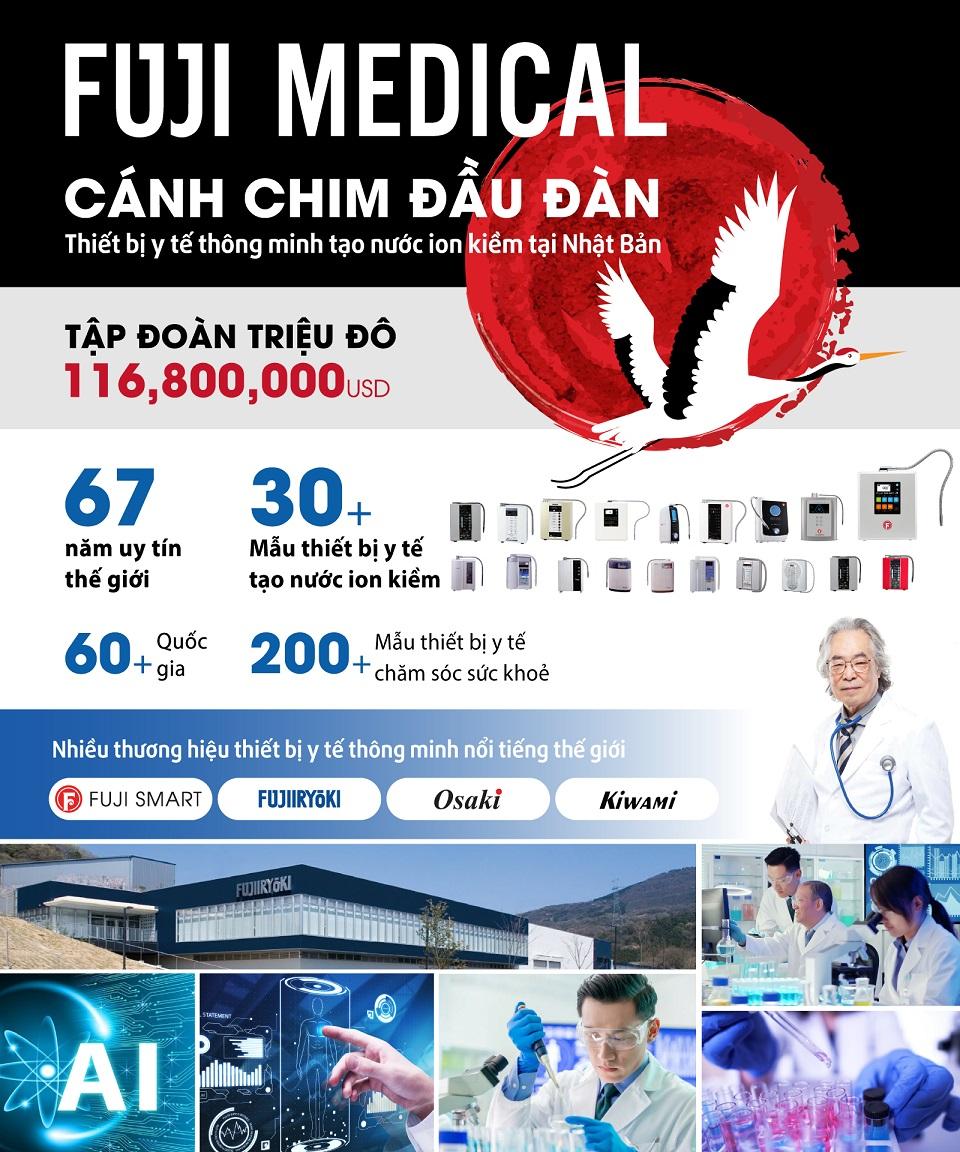 Fuji Medical cánh chim dẫn đầu ngành điện giải