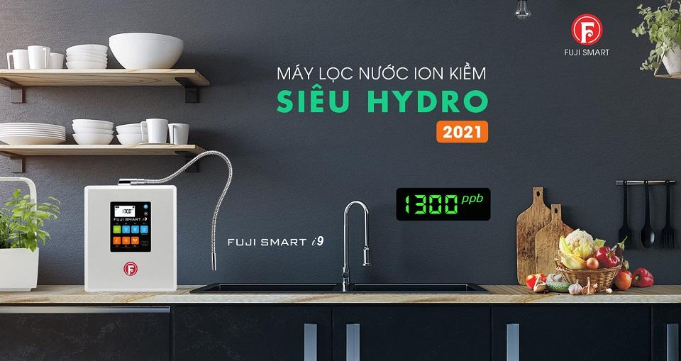 fuji smart i9 đặt tại nhà bếp
