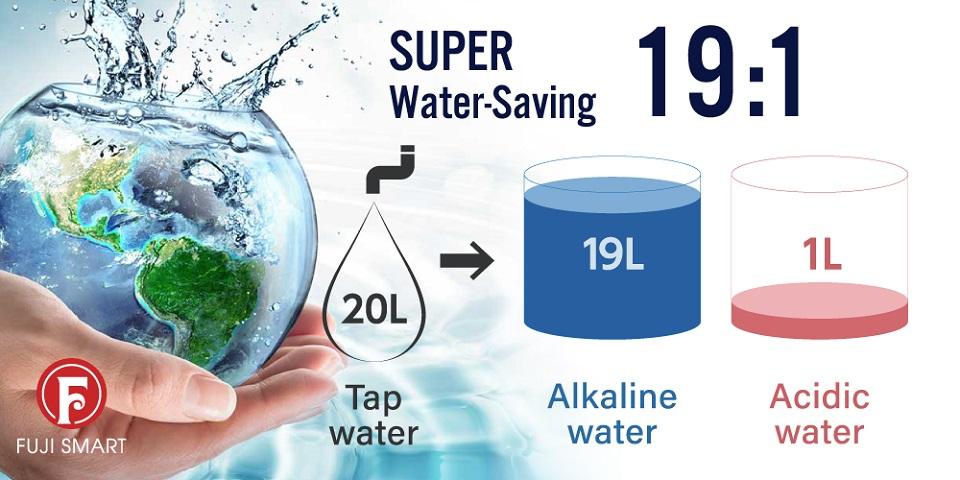 fuji smart i9 siêu tiết kiệm nước 1