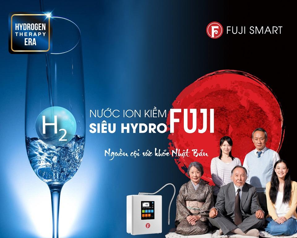 nước hydrogen cội nguồn sức khỏe Nhật Bản