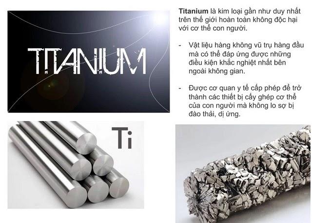 Titanium là vật liệu thích hợp để chế tạo tấm điện cực