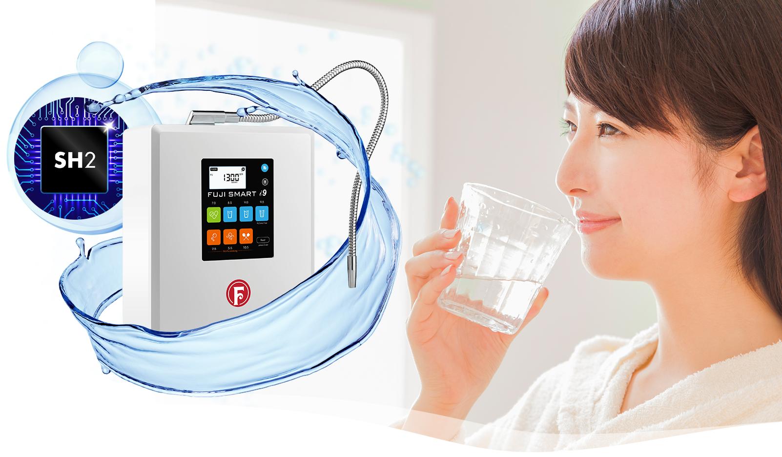 Máy lọc nước điện giải ion kiềm Fuji Smart i9 Nhật Bản