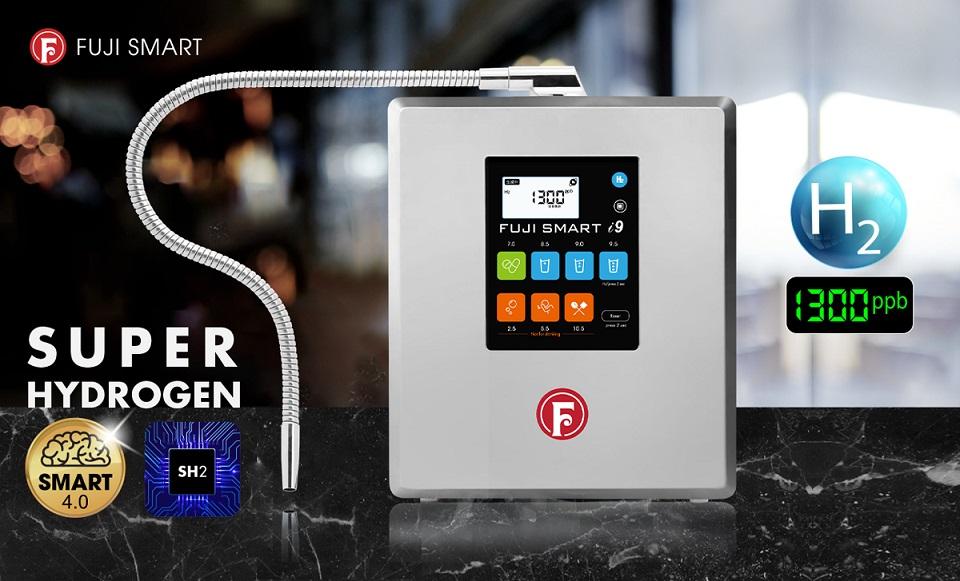 sản phẩm máy lọc nước ion kiềm siêu hydro Fuji Smart i9