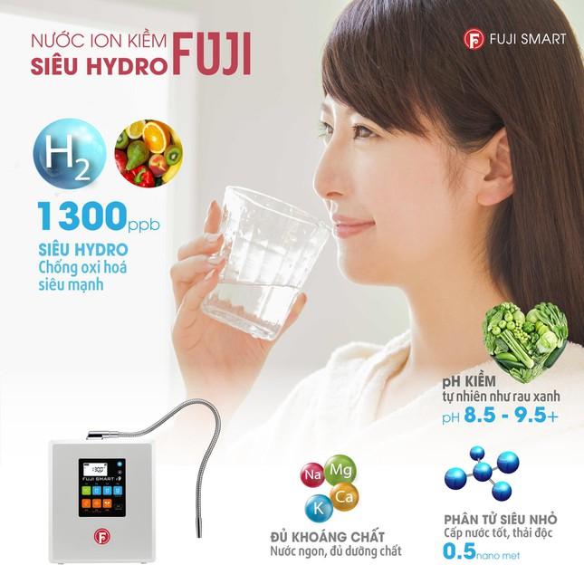 lợi ích khi uống nước ion kiềm