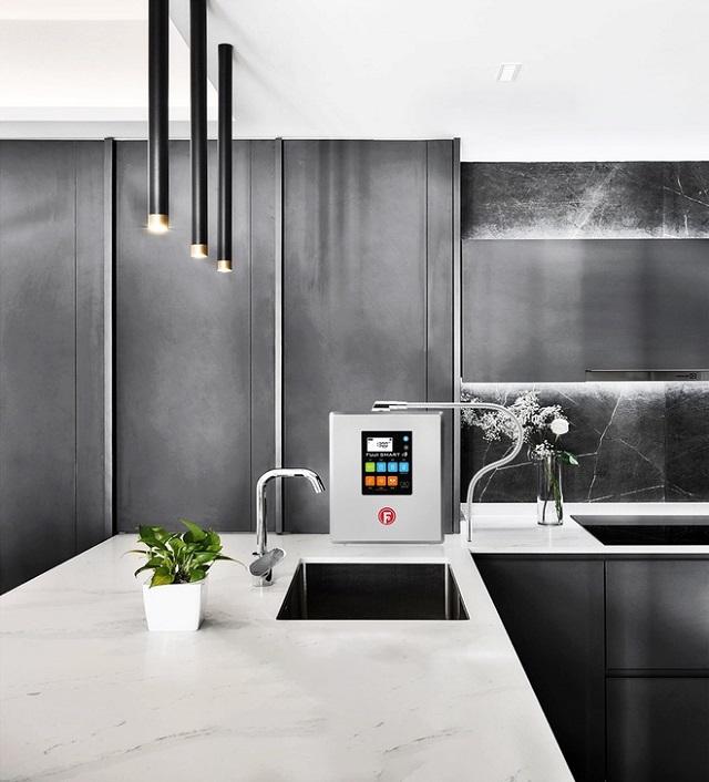 máy Fuji Smart i9 đặt tại nhà bếp