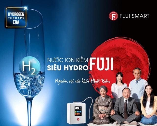 máy lọc nước ion kiềm siêu hydro fuji smart i9