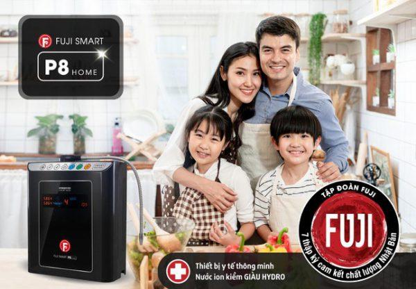 Máy lọc nước ion kiềm Fuji Smart P8 Home giá rẻ